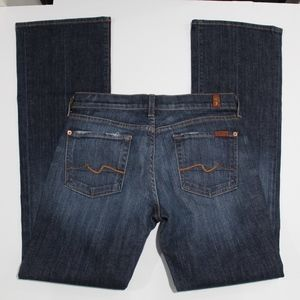 7 For All Mankind Jeans NYD boot U130055UB-055U 29